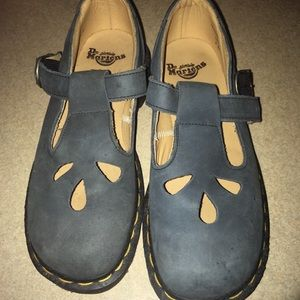 Dr Martens Leather Mary Jane Sandals Size 3
